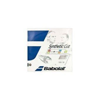 BABOLAT เอ็นเทนนิส SYNTHETIC GUT 12M 130-16 WHITE (สีขาว)