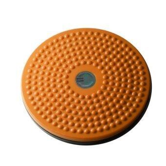จานทวิส จานหมุนเอว เล็ก ( สีส้ม ) Twist Disc / Twist Plate / Twister