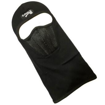ไอ้โม่ง หน้ากากผ้า ผ้าคลุมหน้า พร้อมกรองอากาศ (สีดำ)