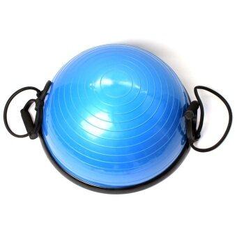 BEGINS โบซูบอล ลูกบอลออกกำลังกาย Bosu Ball 55 cm (สีฟ้า)