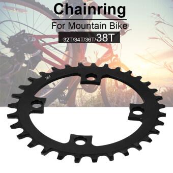 ความเร็วปากกว้างแคบเพียง MTB โซ่จักรยานดัง Chainring 104 BCD 38T CS399 - intl