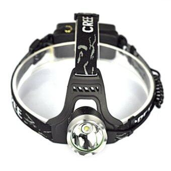 Harga 2500 Lumen XM-L T6 LED 18650 Headlamp Headlight Head Lamp Light Torch Flashlight- Intl