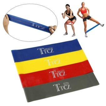 Harga Yoga Sports Exercise Band Resistance Loop Band Fitness Workout Band Exercise - intl