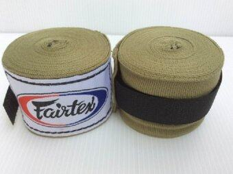 FAIRTEX ผ้าพันมือ แฟร์เท้ก ลายพราง - Fairtex Army Green Elastic HandWraps - Thai Army