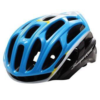 Scorpio-Works หมวกปั่นจักรยาน ไซส์ L Black-Blue