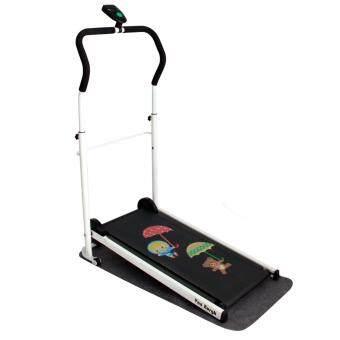 Van Burgh ลู่วิ่ง พับเก็บได้ ออกกำลังกาย Mini Foldable Treadmill รุ่น SP-0003 พร้อมสติกเกอร์ลายร่ม(AY649)