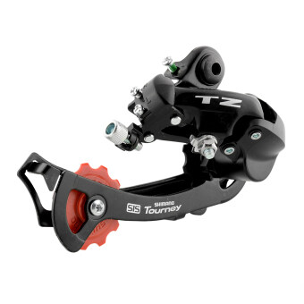 Harga Shimano Tourney RD-TZ50 Bike Bicycle Rear Derailleur 7/6-speed With Bolt Black