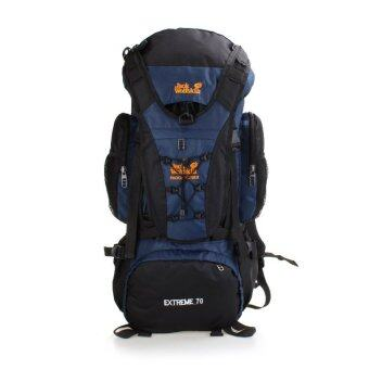 Harga Outdoor Professional Men and Women Hiking Backpack Large Capacity Travel Backpack 70L - Intl