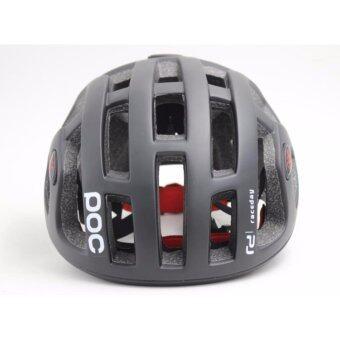 Lee Bicycle หมวกจักรยาน รุ่น POC(สีดำ)
