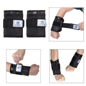Pair 5-7kg Adjustable Hand Wrist Arm Weight Gym Exercise Boxing Training Zooboo - intl