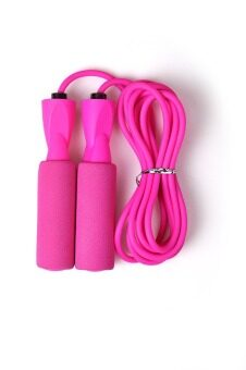 Harga Winmax Aerobic Exercise Skipping Jump Rope Bearing Speed Fitness - Pink - intl