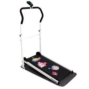 Van Burgh ลู่วิ่ง พับเก็บได้ ออกกำลังกาย Mini Foldable Treadmill รุ่น SP-0003 พร้อมสติกเกอร์ลายปลา(AY7153)