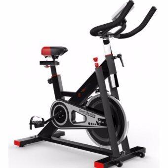 B&G SPIN BIKE จักรยานออกกำลังกาย Exercise Fitness Spin Bike Commercial Grade ระบบสายพาน (Black) - รุ่น S401