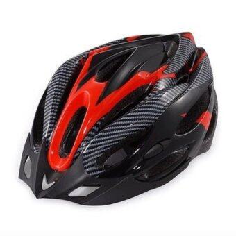 iremax หมวกจักรยานพร้อมกะบังหมวก รุ่น H-18 ( Red )