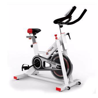 B&G SPIN BIKE จักรยานออกกำลังกาย Exercise Fitness Spin Bike Commercial Grade ระบบสายพาน (White) - รุ่น S401