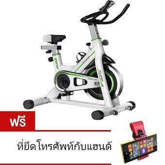 AVARIN จักรยานออกกำลังกาย Exercise Spin Bike จักรยานฟิตเนส Spinning Bike SpinBike รุ่น Hawk - WHITE