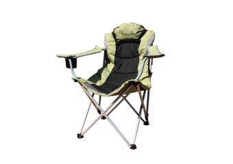 Field and camping เก้าอี้ King ปรับระดับ - สีเขียว/ดำ