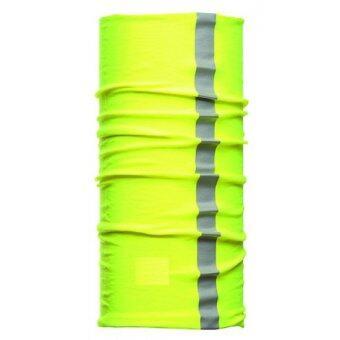 REFLECTIVE PARBUF ผ้าโพกหัว ผ้าบัฟ สะท้อนแสง ปิดปาก กันฝุ่น - Green