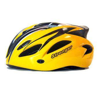 Stronger หมวกจักรยาน รุ่น V-105 (สีเหลือง/ดำ)