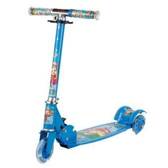 Scooter สกู๊ตเตอร์ 3 ล้อ ขนาด 4 นิ้ว ( สีน้ำเงิน )