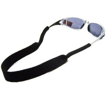 PARBUF สายคาดแว่น สายรัดแว่น NEOPRENE ( สีดำ )