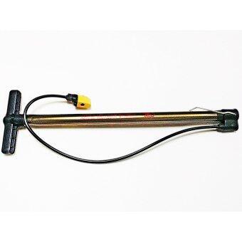 FIXGEAR : BUSTER ที่สูบลมจักรยาน ก้านกล้วยยาว สีเหลืองทอง CK-590E