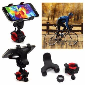 ขาจับมือถือ จักรยานและมอเตอร์ไซค์ คุณภาพ หมุนได้ 360องศา ใส่ได้กับ iPhone 5/ 6/Plus/7, Samsung Galaxy S7/S6/5
