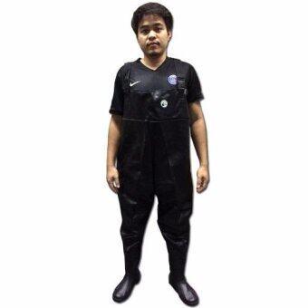 ชุดกันน้ำ สีดำ รองเท้า เบอร์ 44