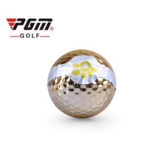 PGM EXCEED ลูกกอล์ฟเปิดงานPGM สีทอง (Q016) แพ็ค 3 ลูก