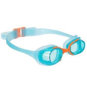 แว่นตาว่ายน้ำสำหรับเด็ก (สีฟ้า/ส้ม)