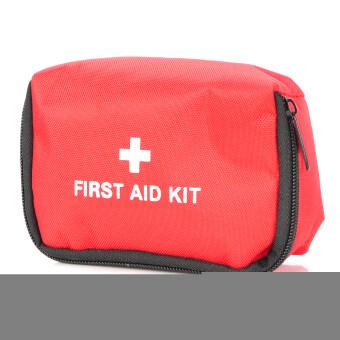 ชุดกระเป๋าปฐมพยาบาลกลางแจ้ง 11 in 1 ฉุกเฉิน - สีแดง