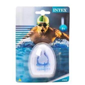 ชุดที่หนีบจมูกและอุดหู ซิลิโคน เวลาว่ายน้ำ intex รุ่น 55609