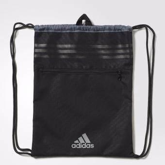 Adidas กระเป๋า สะพายหลัง อดิดาส Gymbag 3-Stripes PER AK0005 BK(590)