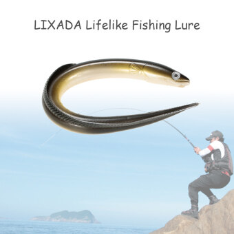 Harga LIXADA 1Pc 29.5cm/59g Simulation Fihsing Lure Swim Eel Artificial Lure Tackle Soft Bait Lifelike Smell Lure - intl