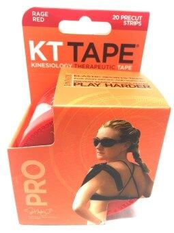KT Tape PRO เทปสำหรับบรรเทาอาการปวดและช่วยพยุงกล้ามเนื้อรุ่น KT Tape PRO (สีแดง)