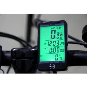 iremax Sunding เครื่องวัดความเร็ว ไมล์ไร้สาย สำหรับจักรยาน รุ่น SD-576C (สีดำ)