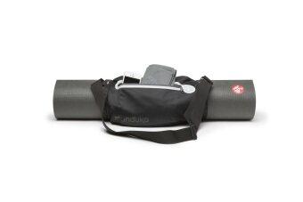 Manduka สายสะพายใส่ Mat และกระเป๋าเล็ก - Black (Strap with Pocket)