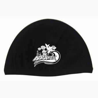 AQUANOX หมวกว่ายน้ำเด็ก ผ้า Lycra