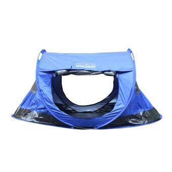 Field and Camping เต็นท์สปริงสี ขนาด 240x130x110 ซม. สีน้ำเงิน