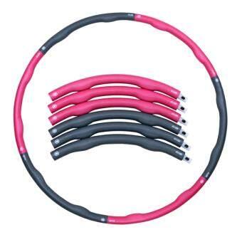 ฮูล่าฮูป Weighthoop โฟมแบบถอดประกอบได้ ขนาด 1.5 kg (สีชมพู/เทา)