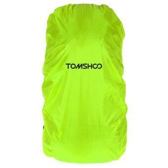 TOMSHOO 40L-55L กระเป๋าเป้ผ้าคลุมกันฝนสำหรับการแคมป์กลางแจ้งเดินป่าท่องเที่ยว