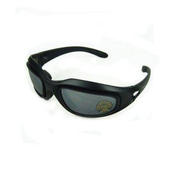 Daisy C5 แว่นตากันแดด เปลี่ยนเลนส์ได้ (Black)