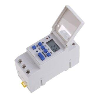 Harga THC15A Weekly Programmable Electronic Timer Digital Time Switch - intl