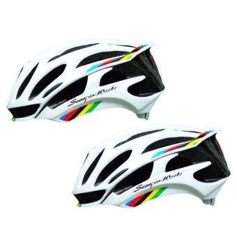 Scorpio-Works หมวกปั่นจักรยาน ไซส์ L Green X2