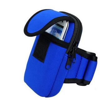 โทรศัพท์มือถือกีฬาจักรยานวิ่งวงแขนข้อมือกระเป๋ากุญแจกระเป๋าแพคเกจกรมท่า