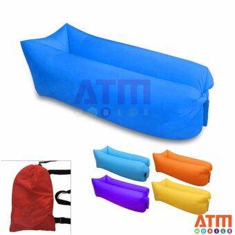 ATM Air Sofa Mattresses โซฟาลม โซฟากล้วย ที่นอนเป่าลม เตียงลมแบบพกพา อเนกประสงค์ Hangout Air Mattresses พร้อมเป้สะพาย