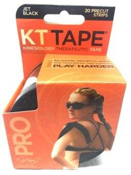 KT Tape PRO เทปสำหรับบรรเทาอาการปวดและช่วยพยุงกล้ามเนื้อรุ่น KT Tape PRO (สีดำ)