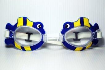 แว่นตาว่ายน้ำสำหรับเด็ก ปลานี่โม่ (สีน้ำเงิน)