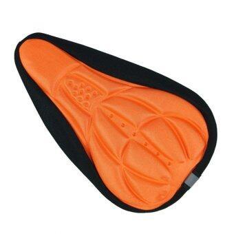 STARSHOP เบาะหุ้มช่วยรองอานรถจักรยาน MTB และเสือหมอบ สีส้ม