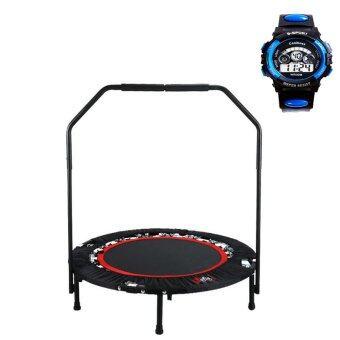trampoline แทมโพลีน 40 นิ้ว รุ่น CY-6388 (สีดำ) แถมฟรี นาฬิกาข้อมือ